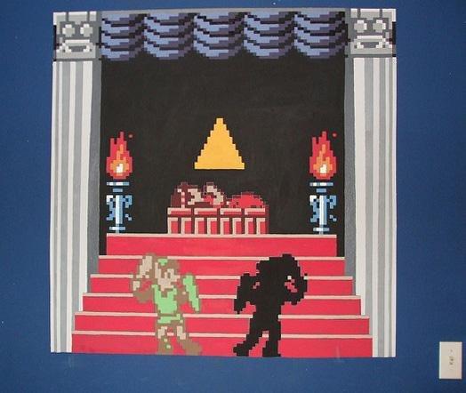 Zelda Wall Mural